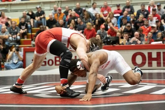 Wrestling: No. 6 Ohio Condition faces No. 21 Illinois and Northwestern in three-day span