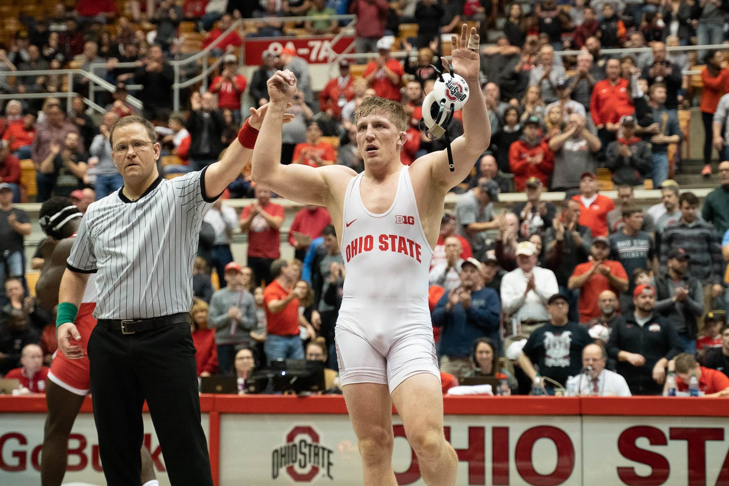 buy online 1901b f9080 Wrestling  No. 6 Ohio State brings nation-leading 10-man lineup into NCAA  Championships