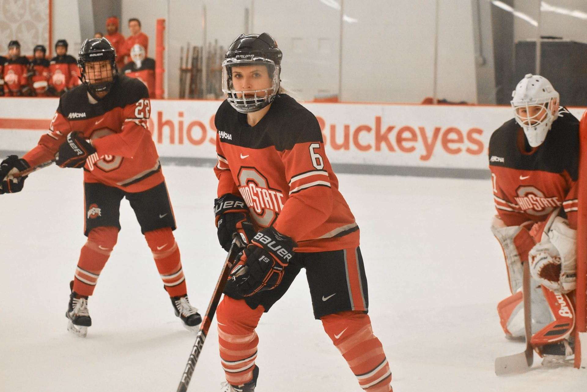 Women S Hockey Lauren Boyle Becomes First Buckeye Drafted To Nwhl