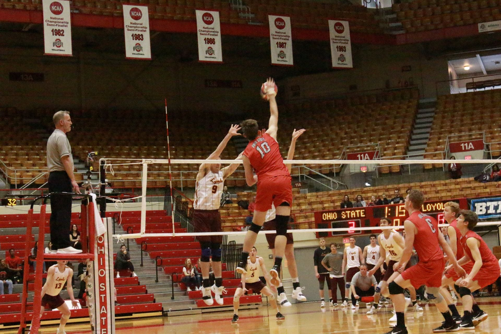 Men's Volleyball: Ohio State face top conference foes in No