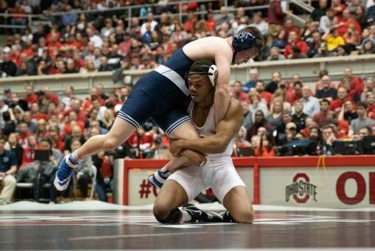 PHOTO12 ukq7tl 530x356 - Wrestling: No. 6 Ohio Condition defeats No. 7 Nebraska 21-12 on senior day