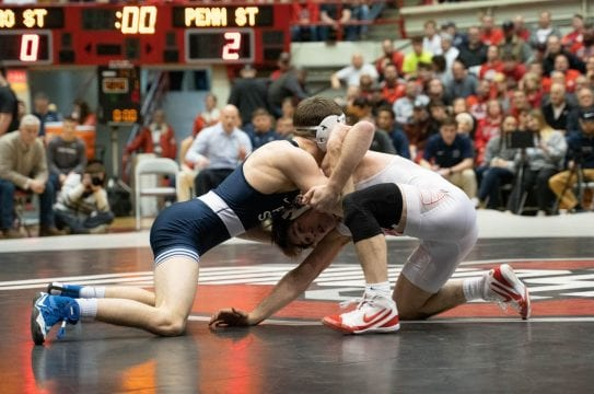 PHOTO5 1mi254r 543x360 - Gallery: Men?ˉs Wrestling versus. Penn Condition