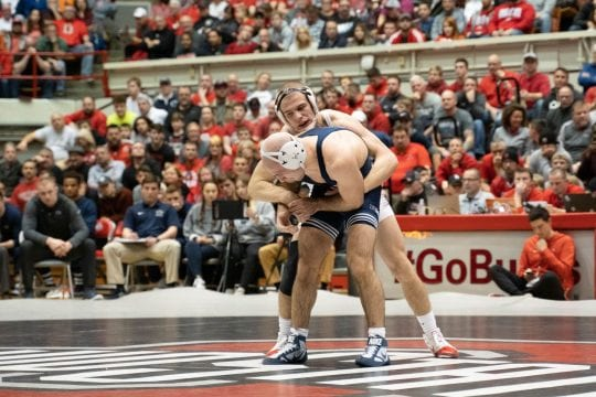 PHOTO8 1ta4n9x 540x360 - Gallery: Men?ˉs Wrestling versus. Penn Condition