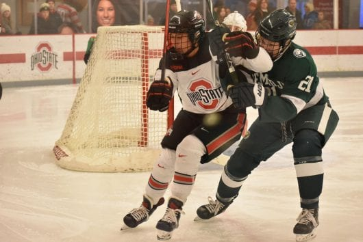 Women&#8217s Hockey: No. 10 Ohio Condition sweeps Minnesota Condition to succeed to WCHA semifinals