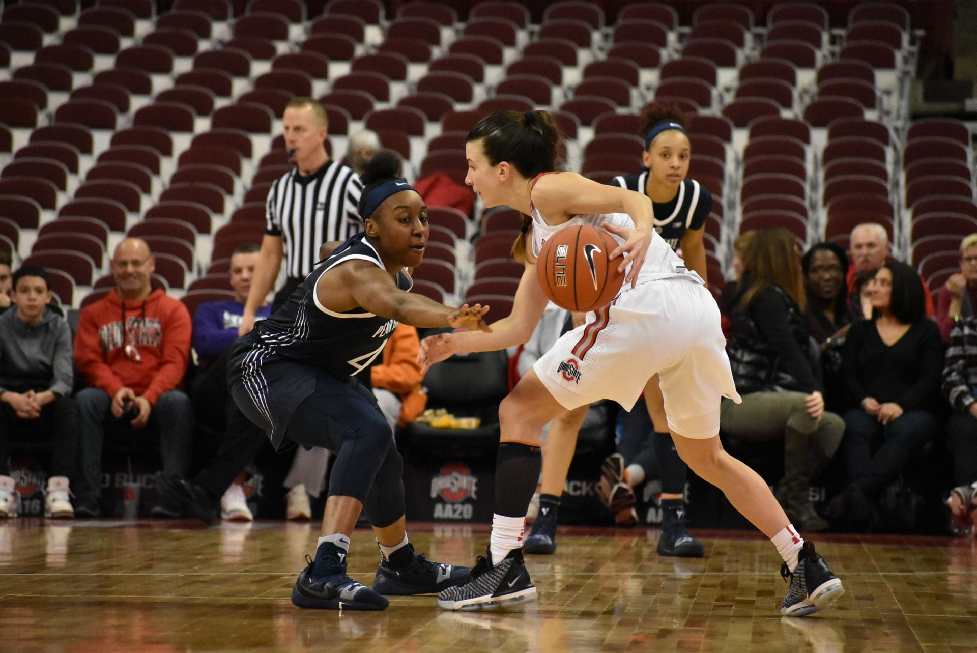 Women's Basketball: Ohio State downs Michigan State 77-70 ...