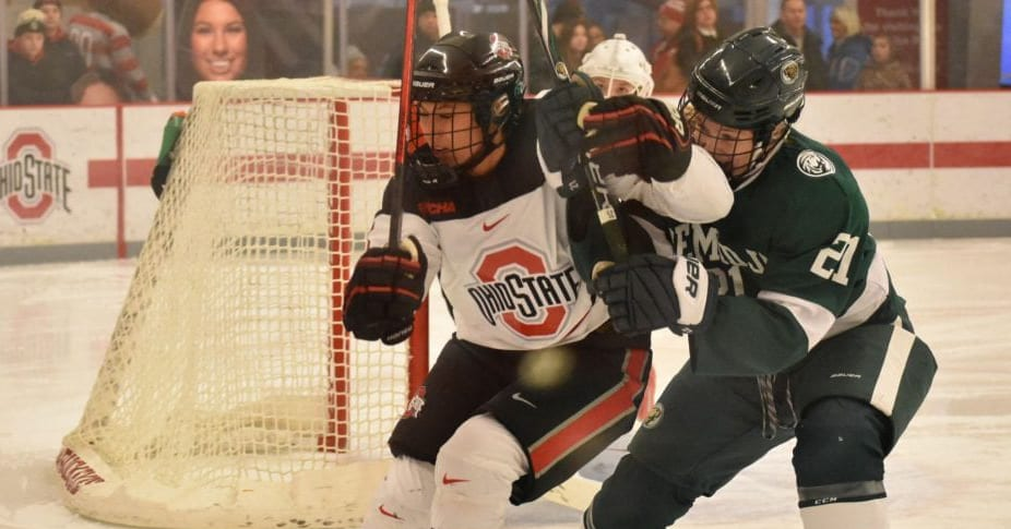 Women's Hockey: Charly Dahlquist finds new home and heights at Ohio State