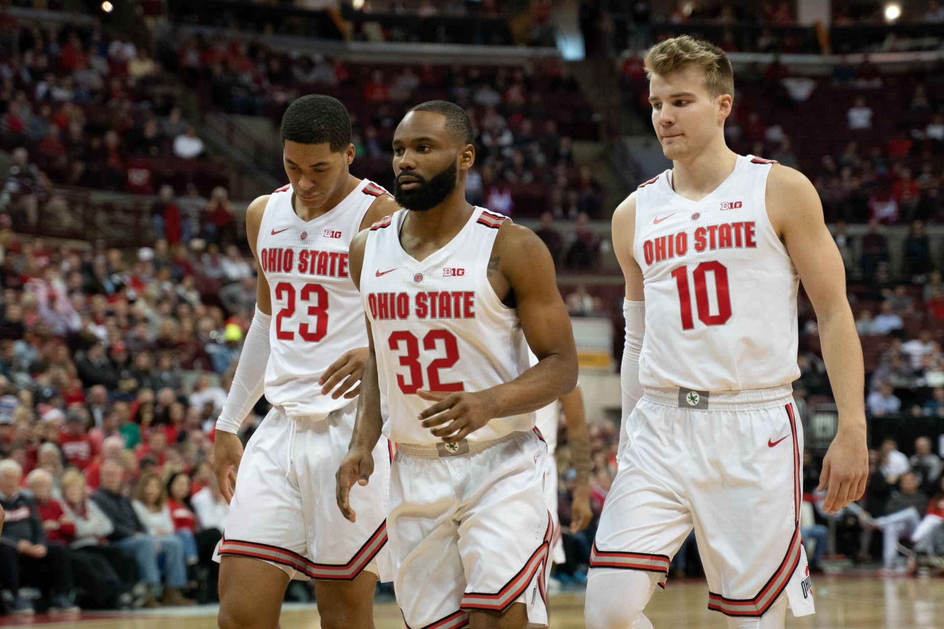 Men S Basketball Ohio State Upsets Iowa State 62 59 In Ncaa