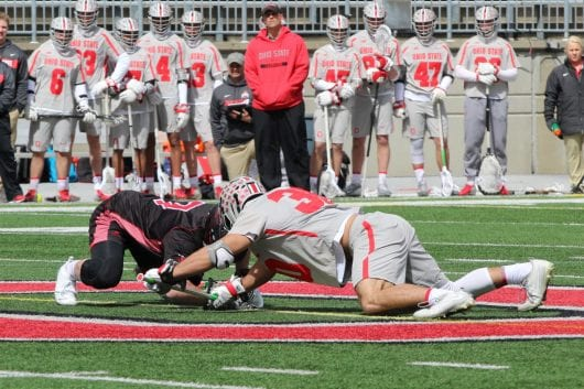 IMG 1419 qsmmle 530x353 - Men's Lacrosse: No. 10 Ohio Condition ends regular season with 13-10 loss to Michigan