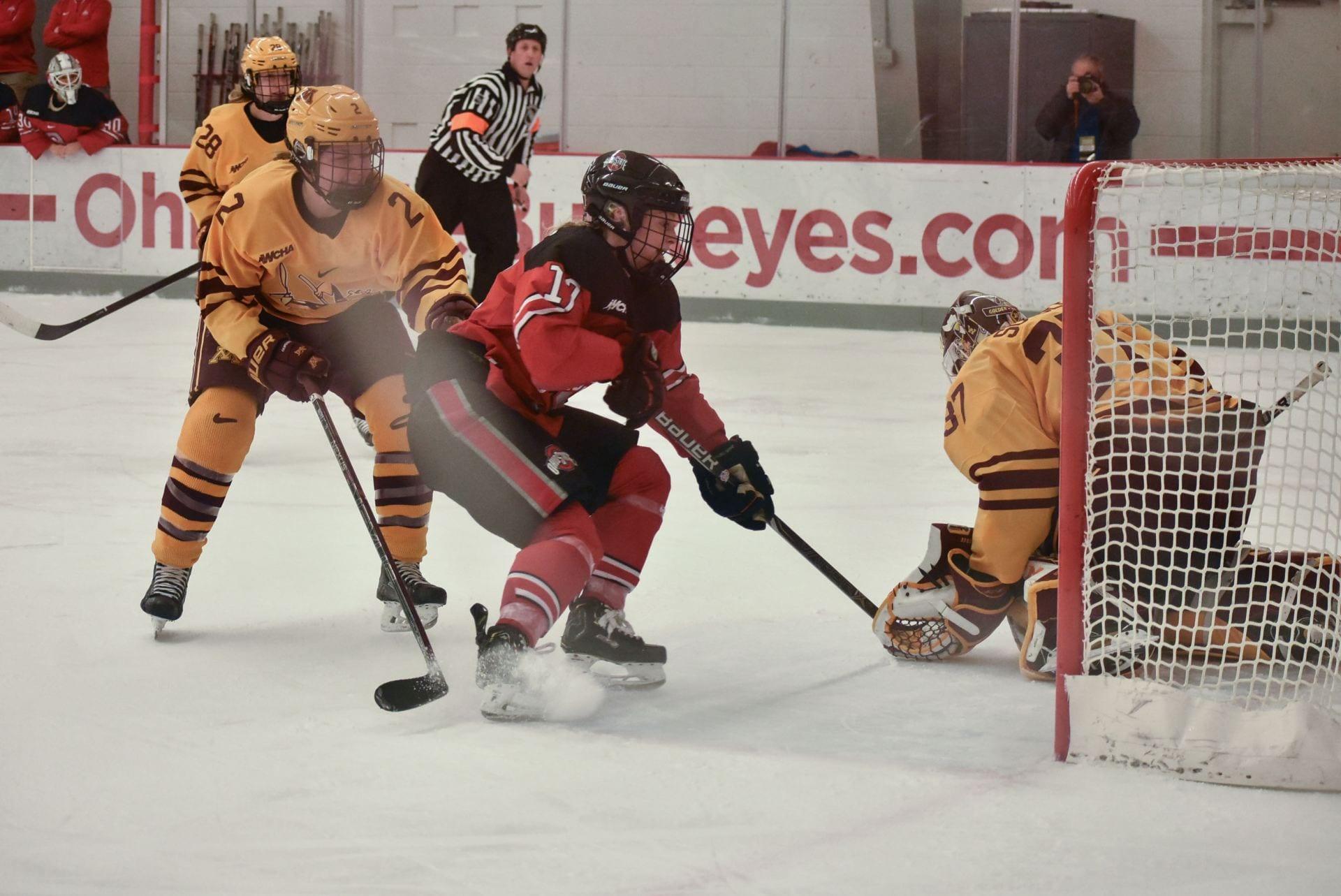 Women's Hockey: No. 7 Ohio State defeats No. 9 Minnesota Duluth 3-1