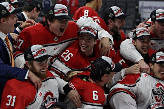 IMG 7469 2drho0p 530x353 - Men?ˉs Hockey: Mason Jobst?ˉs effect on program felt because he enters final games for Ohio Condition