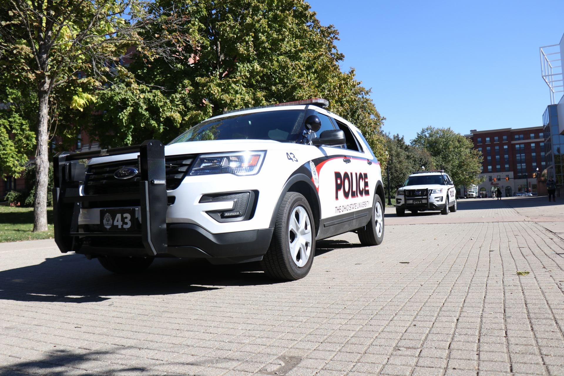 University Police vehicle