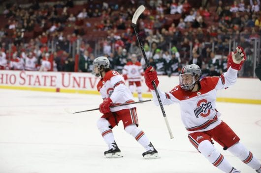 IMG 8939 135jjmb 530x353 - Men's Hockey: No. 6 Ohio Condition for hosting No. 17 Penn Condition in Big Ten Tournament semifinals