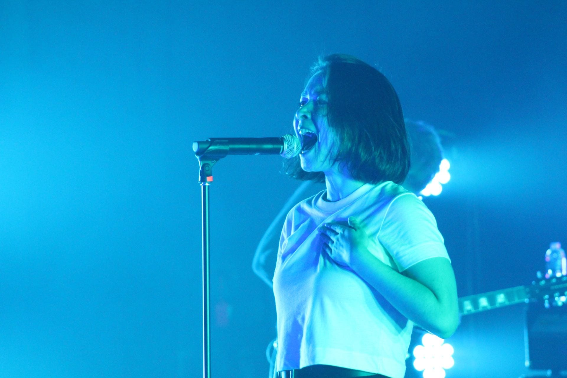 Concert Review Mitski Brings Her Lyrics To Life In Sold Out Columbus Show Venus, planet of love was destroyed by global warming did its people want too much too? concert review mitski brings her