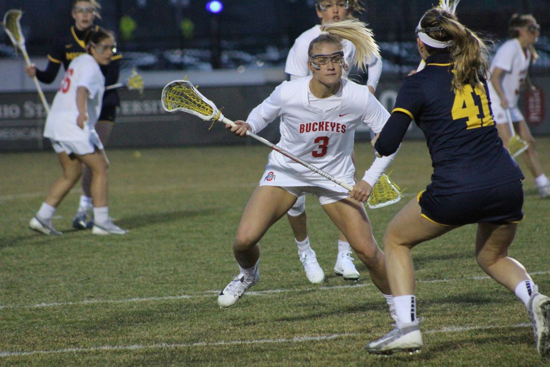 Women's Lacrosse: Ohio State defeats Robert Morris 13-8