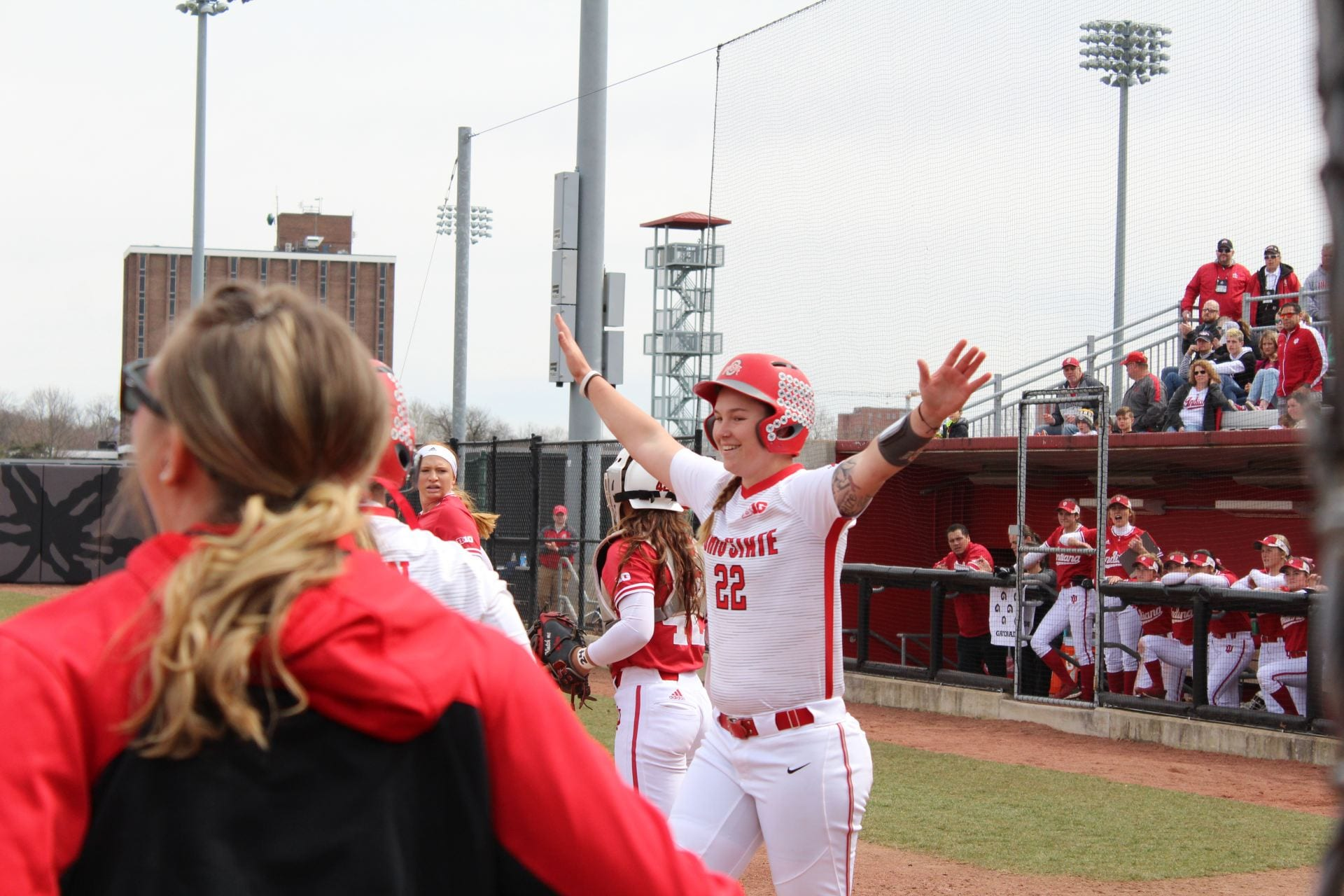 Softball: Lilli Piper and Emily Clark find friendship that transcends Ohio State
