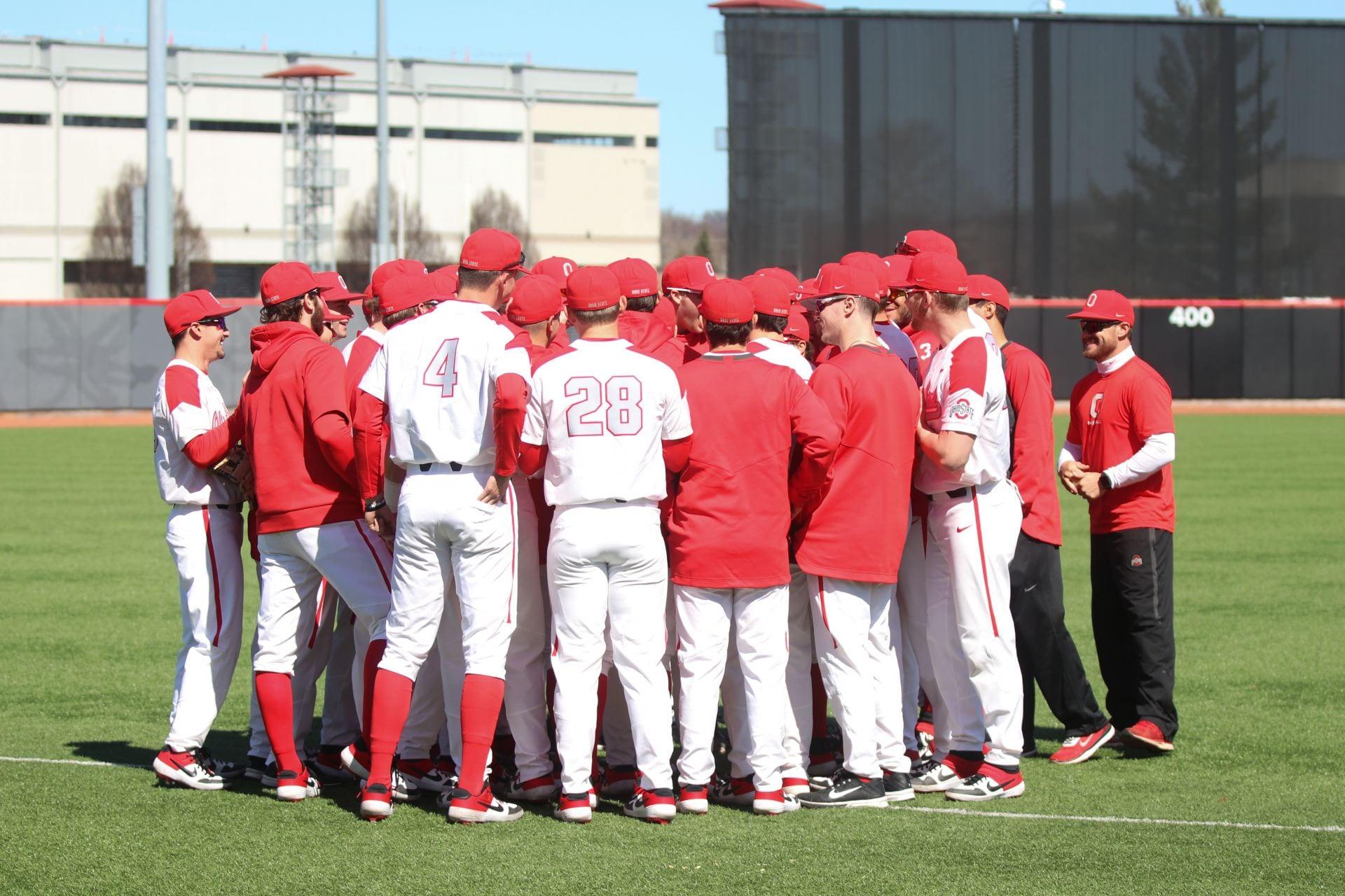 sports shoes ec97a e84ea Baseball: Ohio State drops series to Iowa – The Lantern