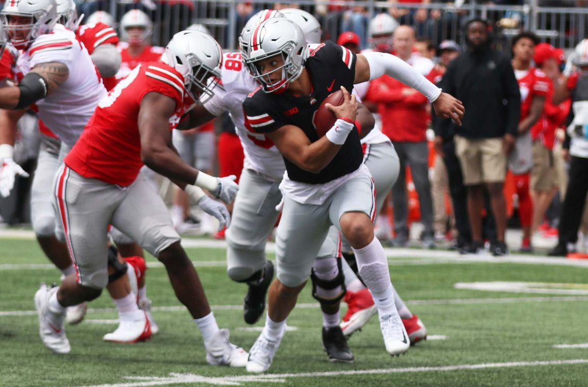 Football: Justin Fields will lead Ohio State offense into 2019