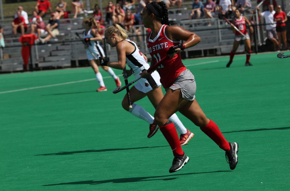 Field Hockey: Michigan tops Ohio State 2-1 in overtime