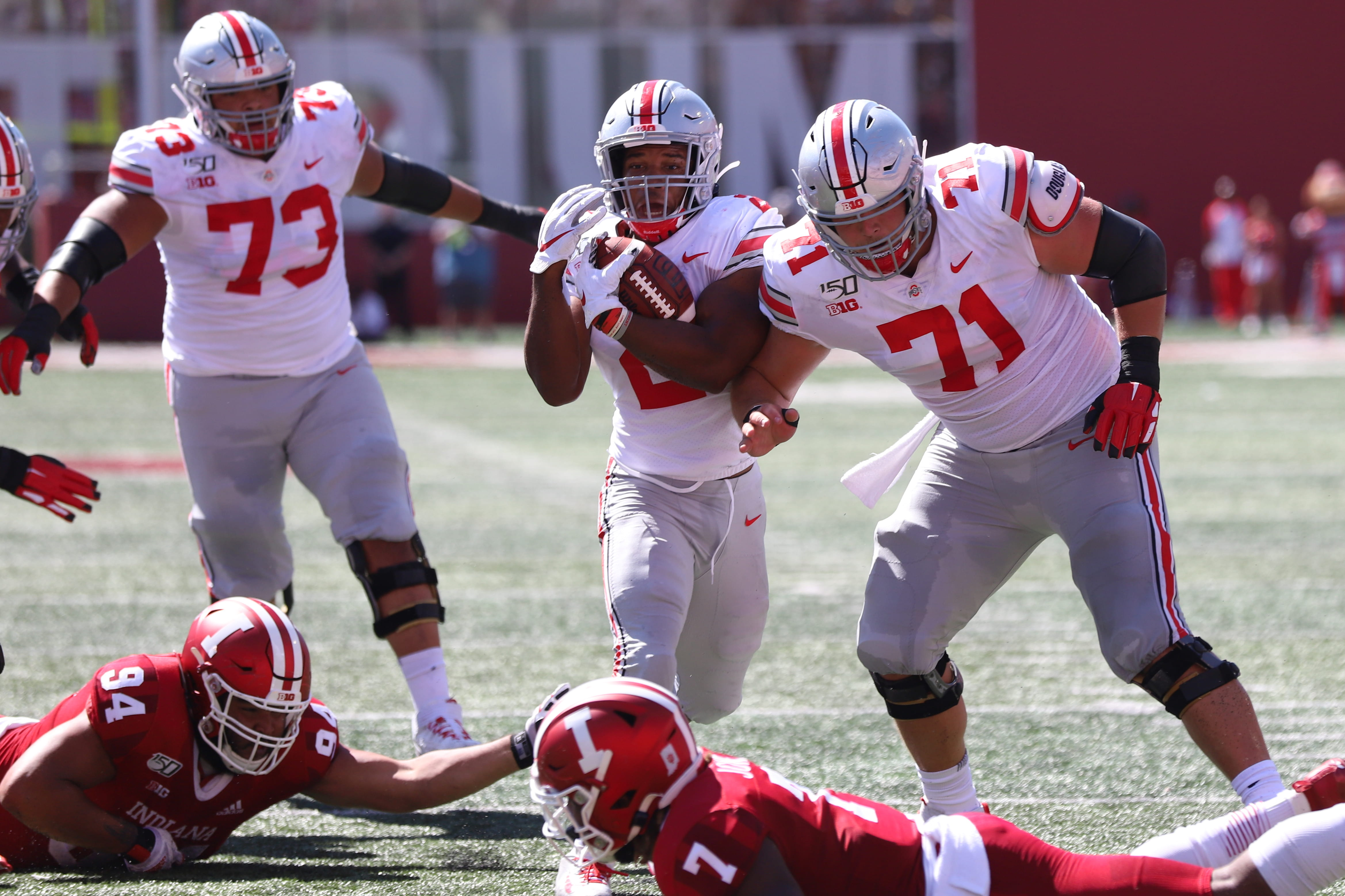 Football Dobbins Tops College Debut In Return To Indiana