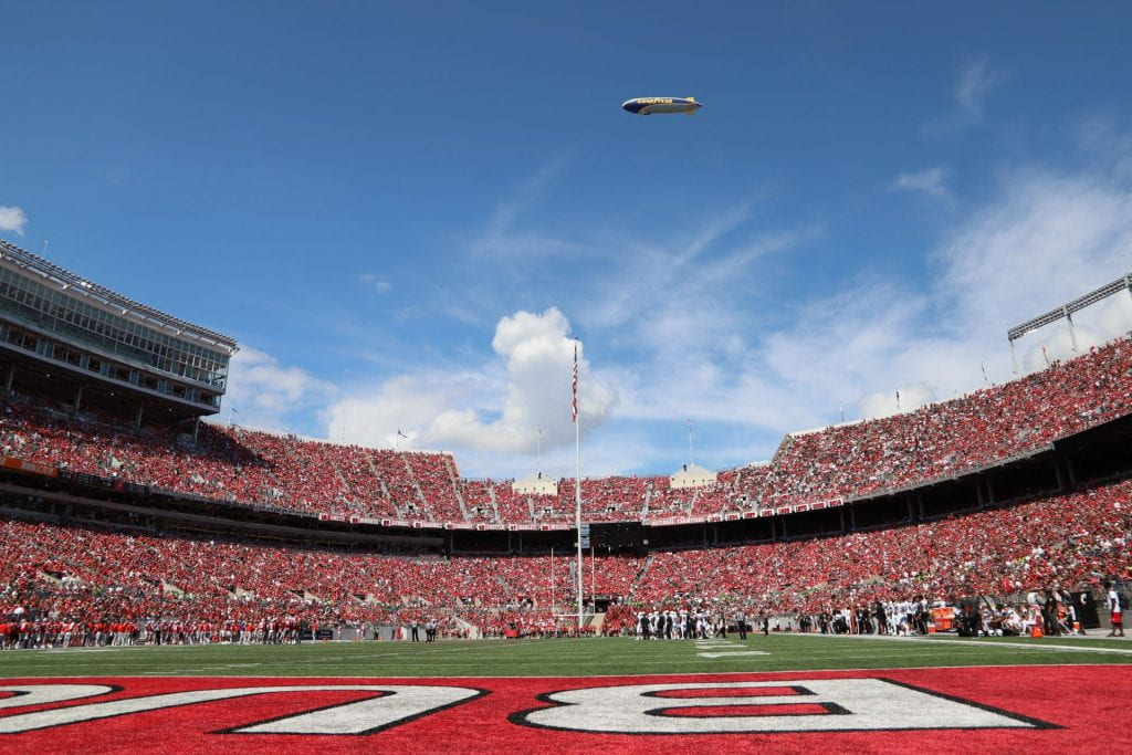 Ohio Stadium is packed on game day