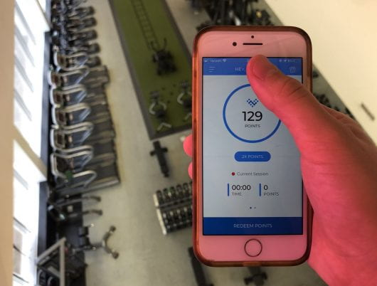 Fitness app rewards students with coupons for exercising