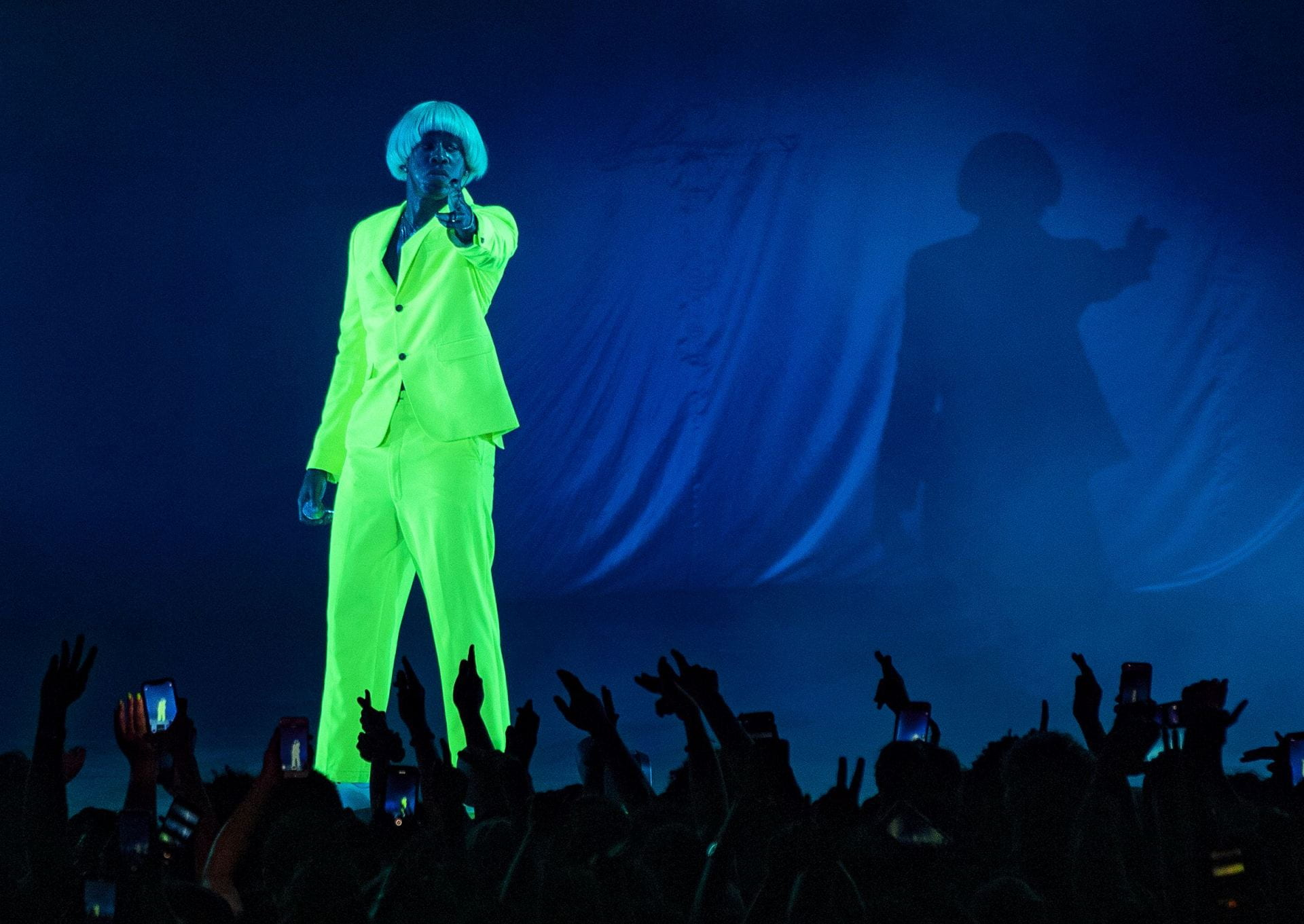 Concert Review Tyler The Creator Goes Wild At Express Live To An Unsavory Crowd