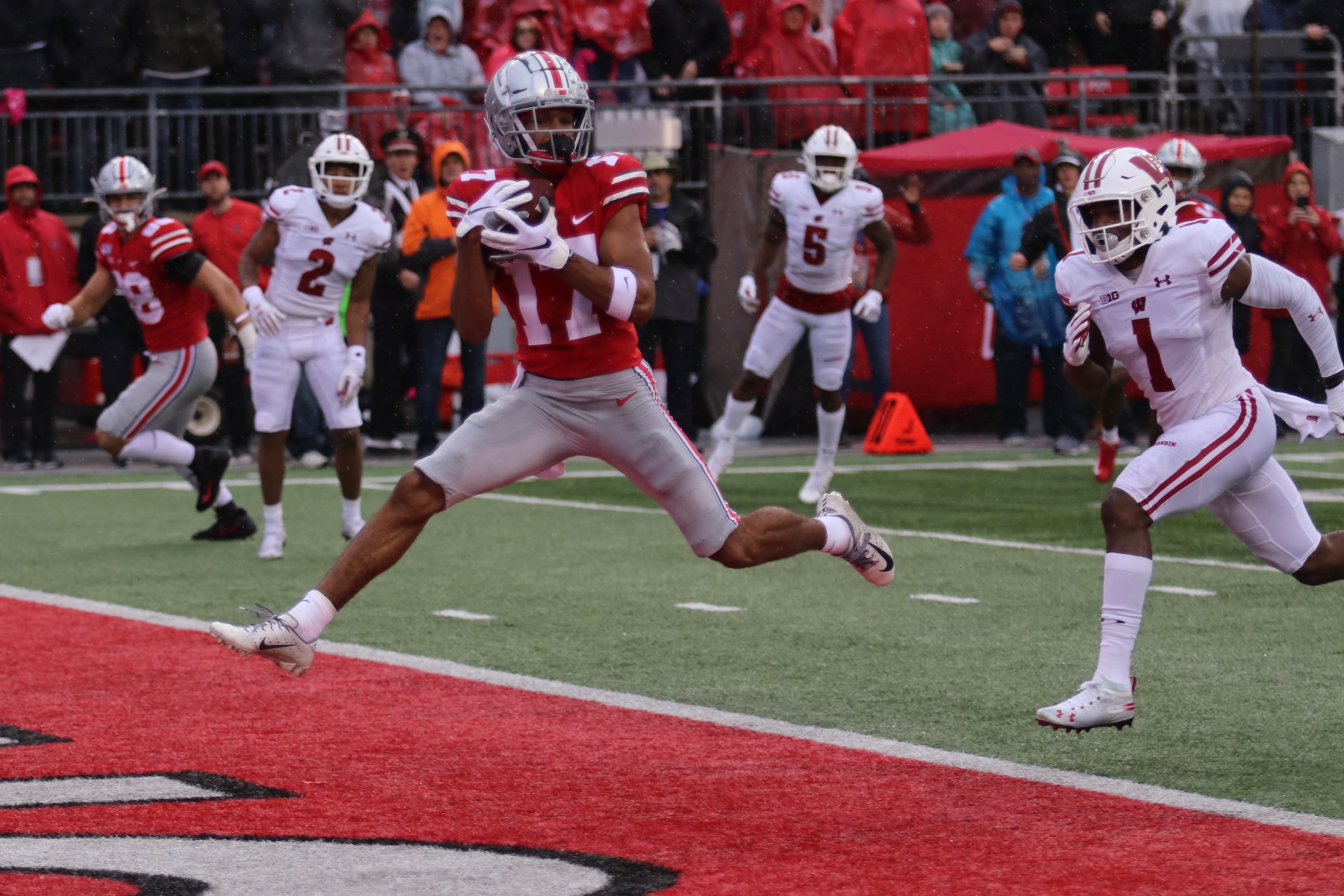 Football No 3 Ohio State Comes Alive To Dismantle No 13