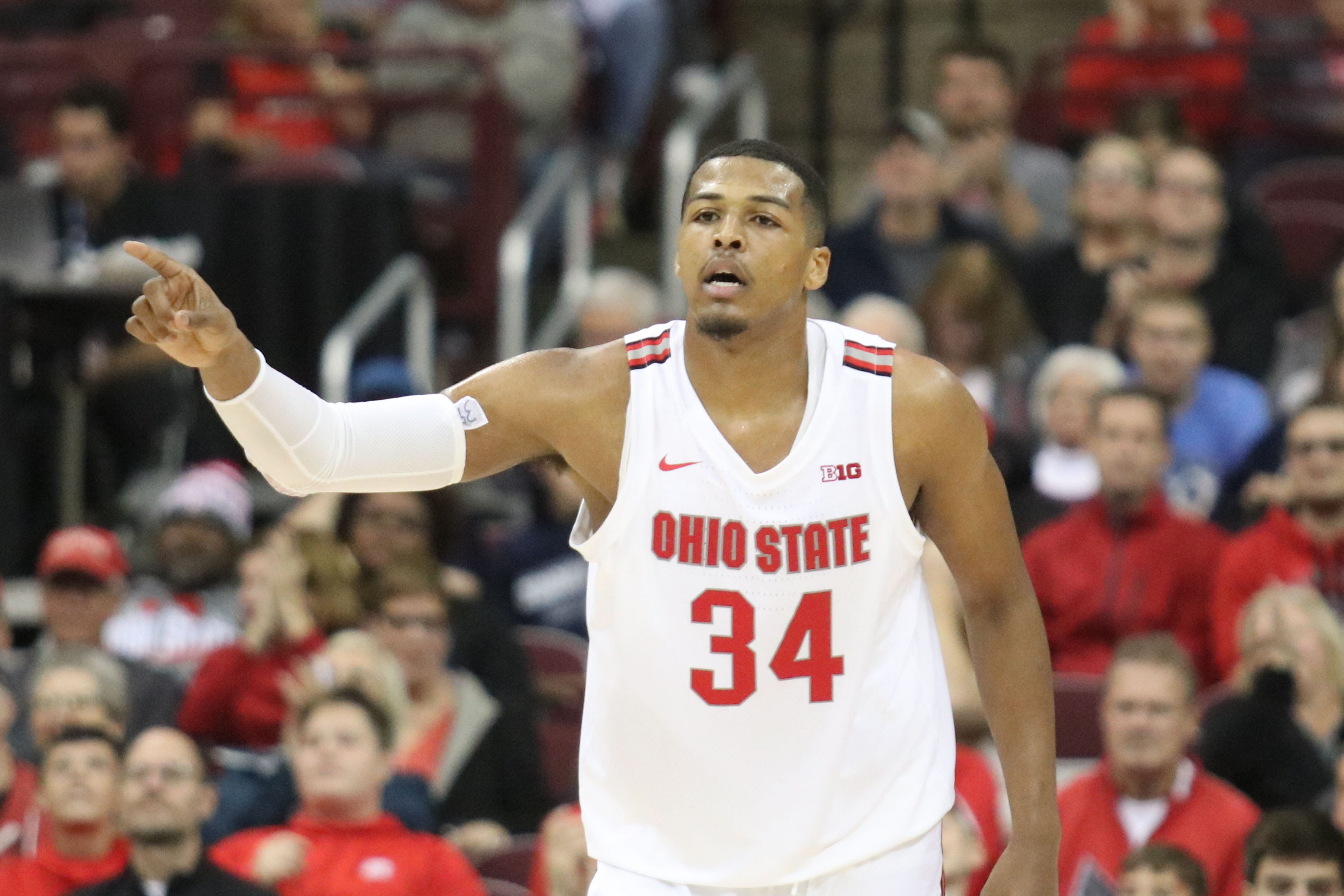 Men S Basketball No 18 Ohio State Crushes Cedarville 95 52