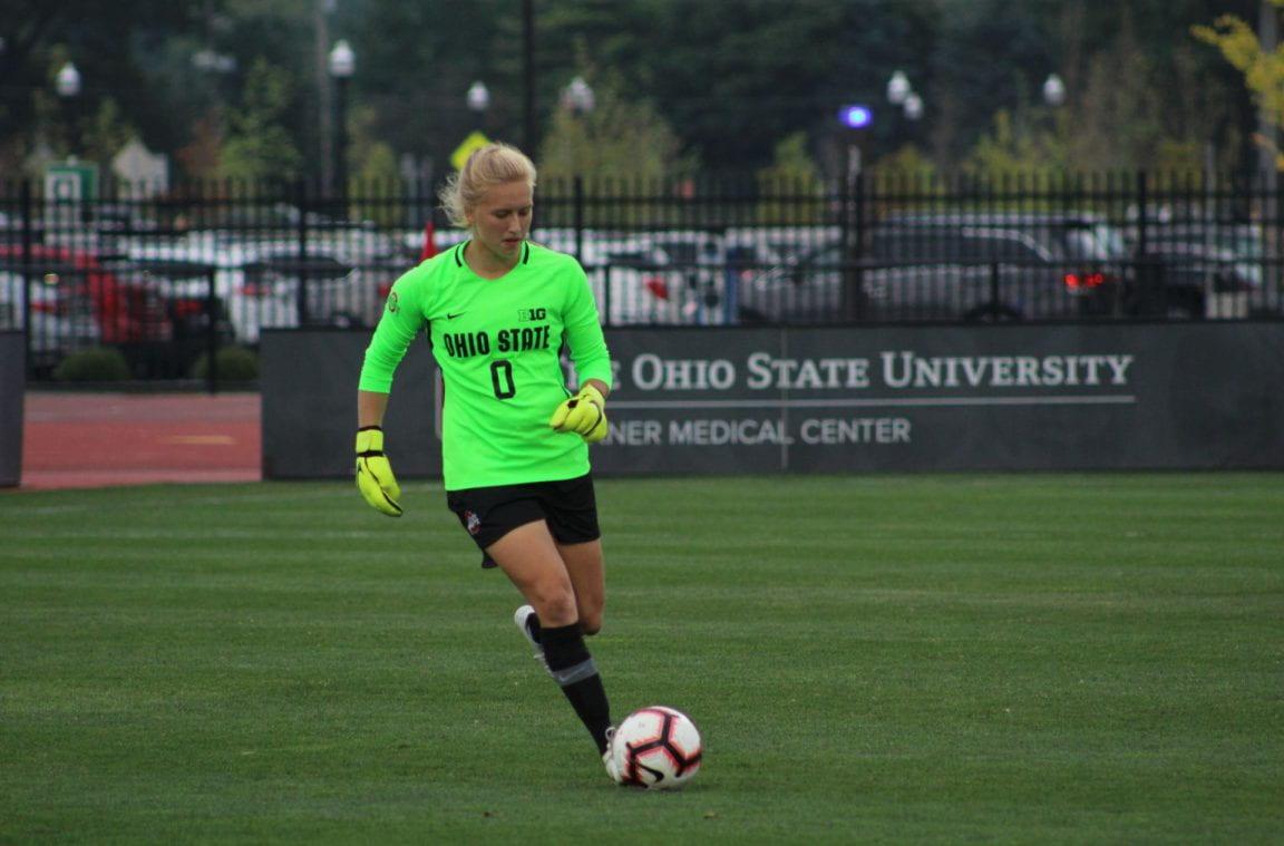 Women's Soccer: Ohio State fights Illinois to scoreless draw