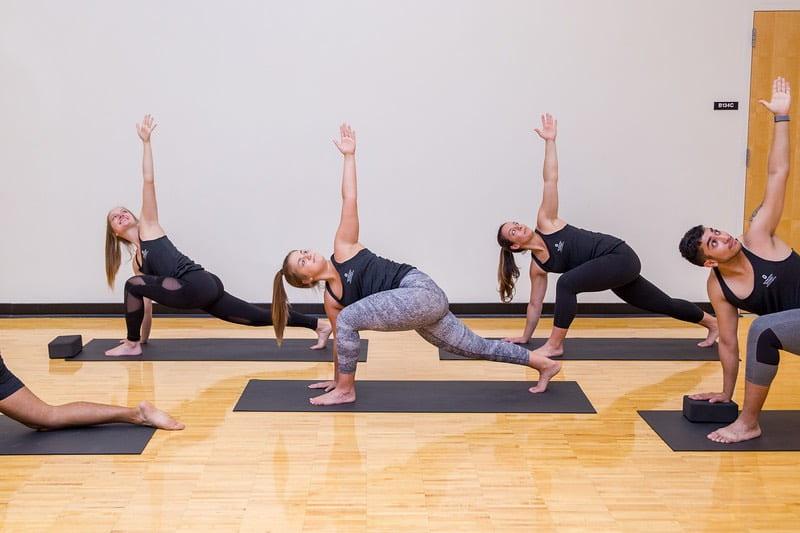 Finding balance through yoga workshop