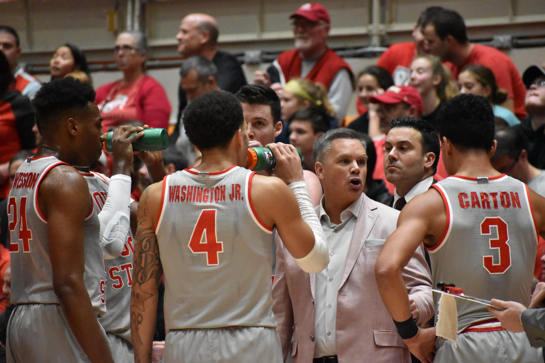 Cleveland Basketball Team >> Men S Basketball No 22 West Virginia Knocks Off No 2 Ohio