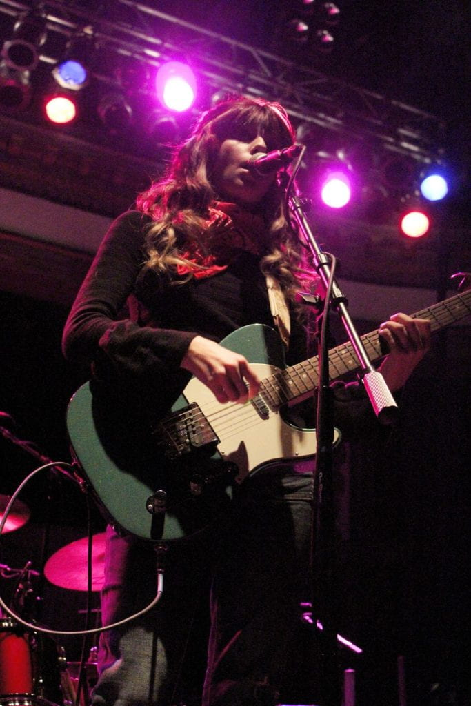 Local band, Snarls opens for Sleater-Kinney at Newport Music Hall on Nov. 1. Credit: Rachael Crouch | For The Lantern