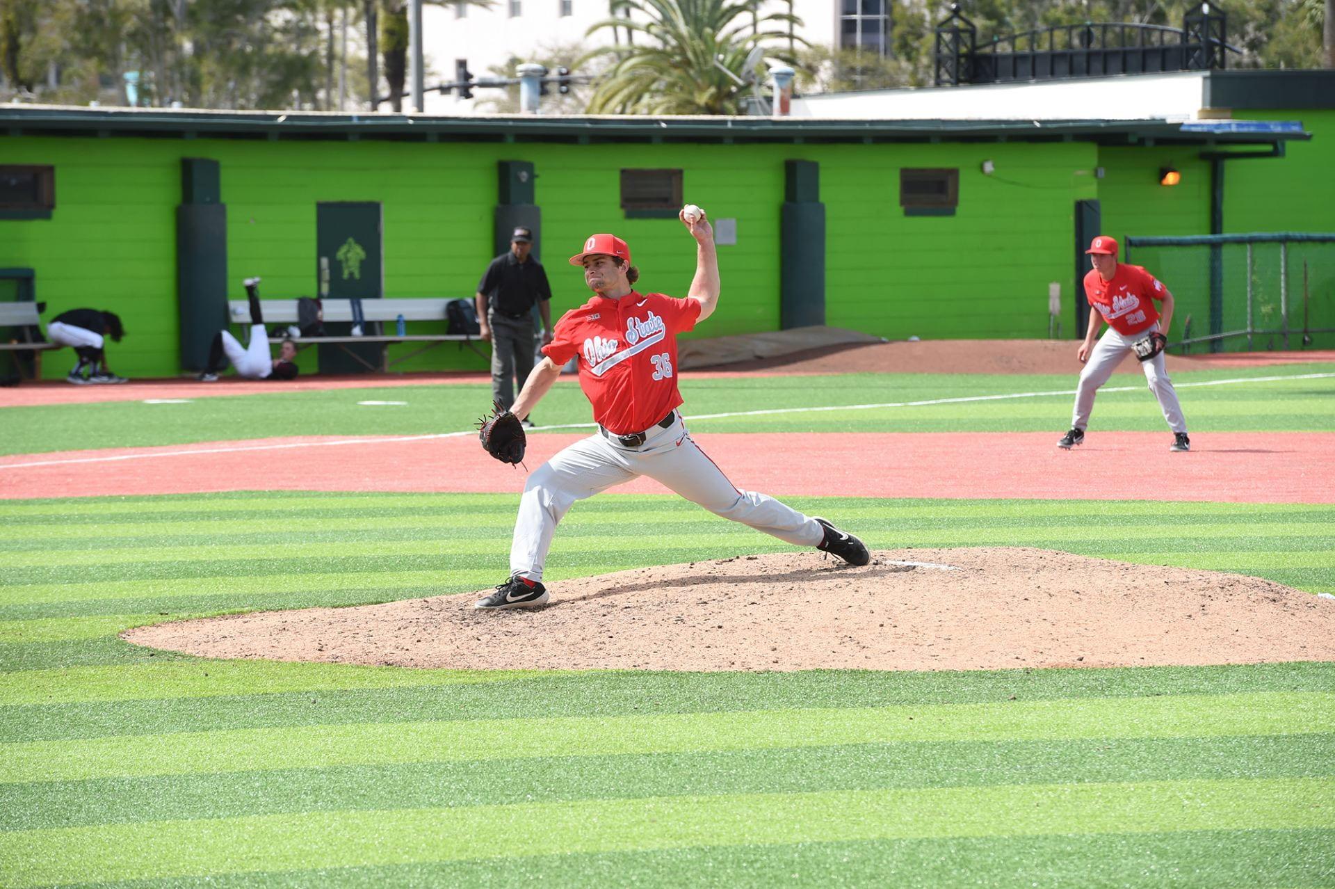 Baseball Two Ohio State Players Share Name High School The Lantern