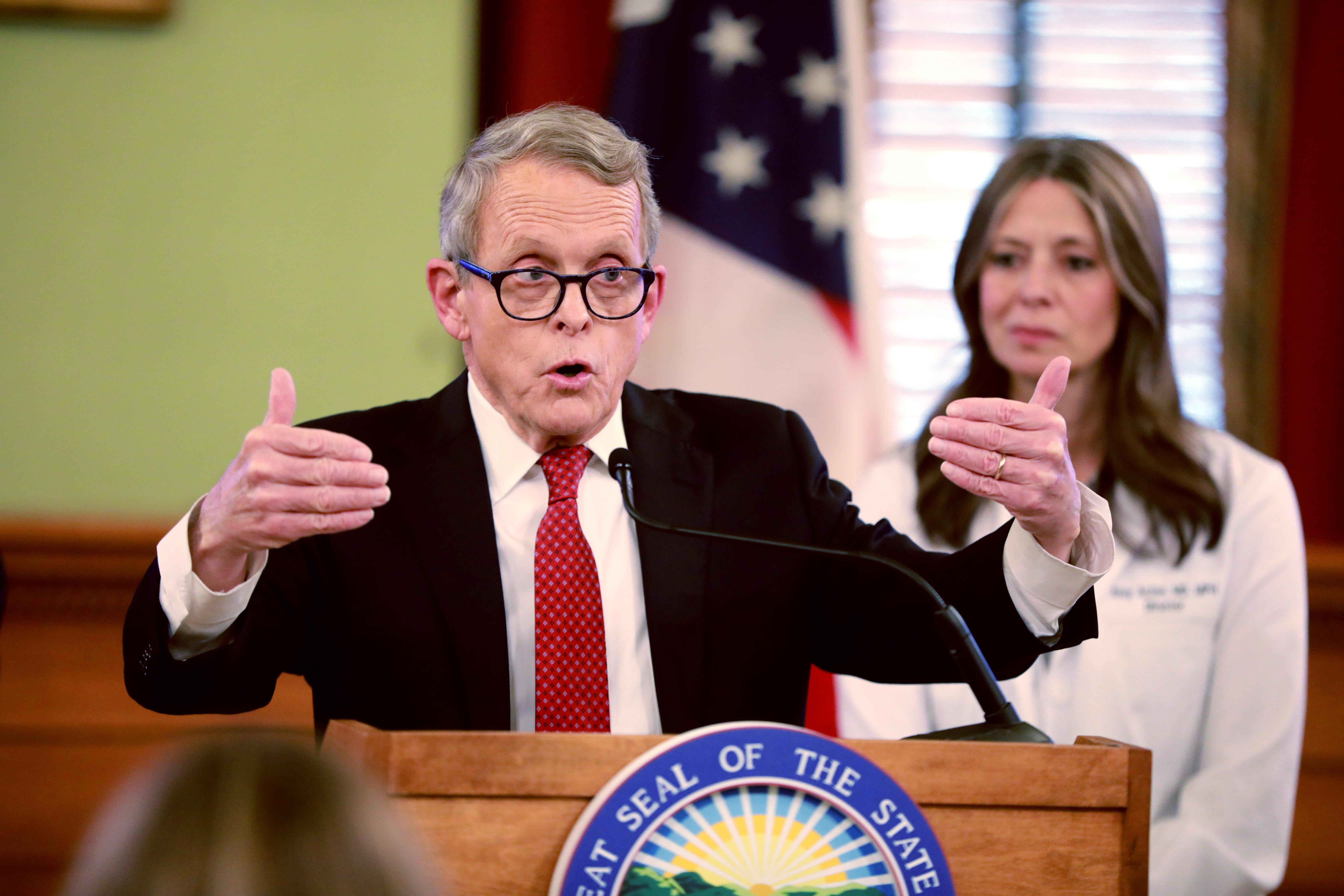 Dewine Returning Spring Breakers Should Self Isolate No Martial Law Enacted