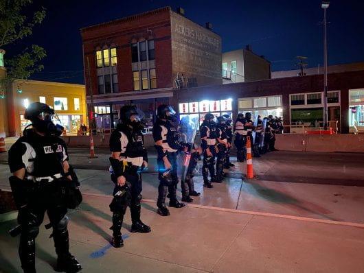 Columbus Police on North High Street south of Fifth Avenue. Credit: Max Garrison | Asst. Campus Editor