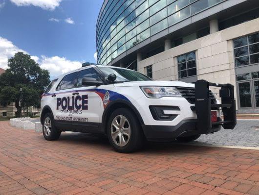 university police/columbus police joint vehicle