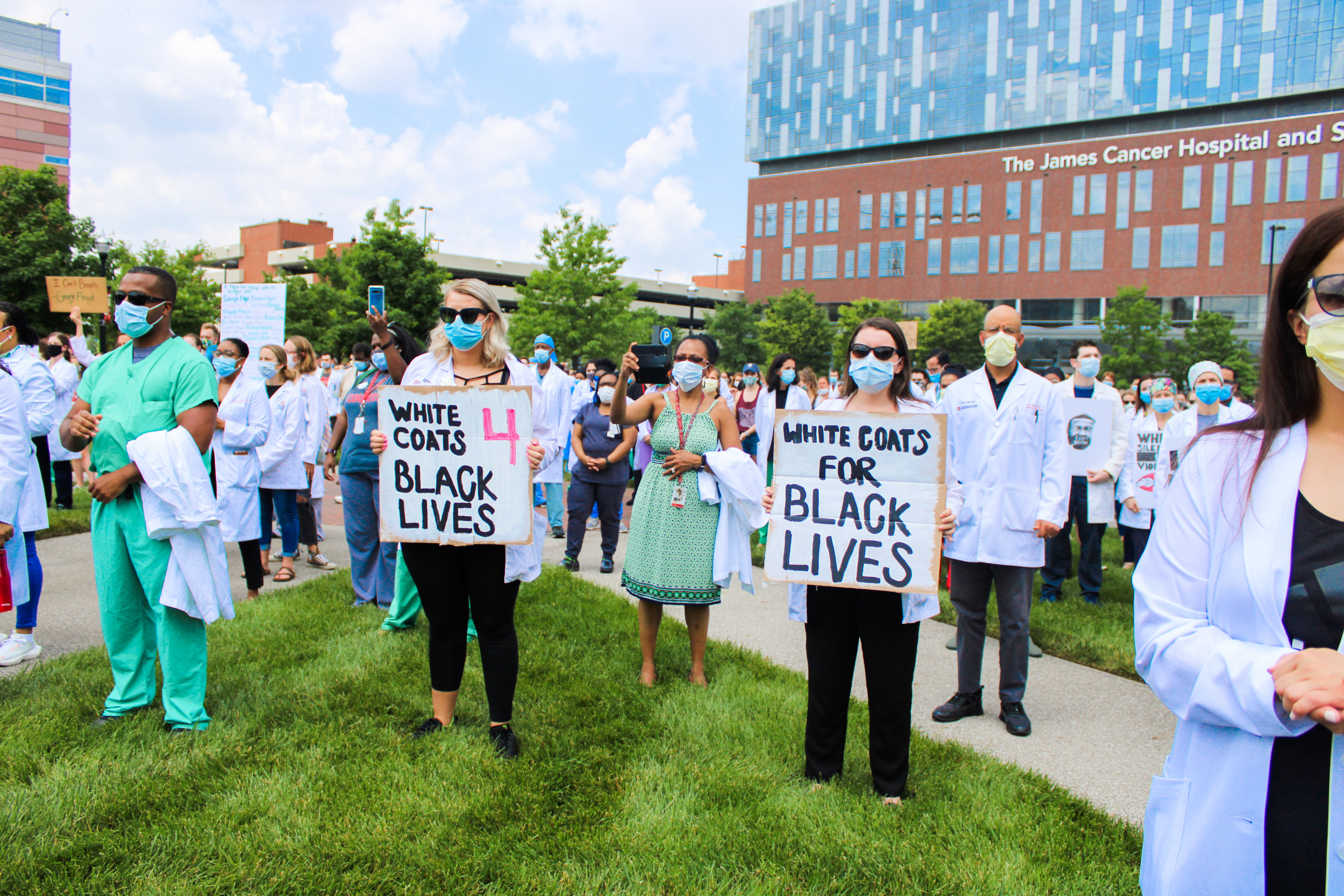 www.thelantern.com: Ohio State medical students, staff and doctors challenge systemic racism in health