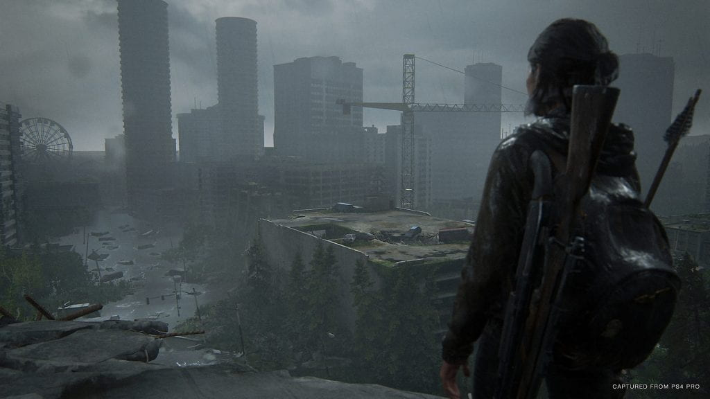The action-adventure game, The Last of Us Part II, developed by Naughty Dog for the PlayStation 4 was released Friday and places players back into the sneakers of a now 19-year-old Ellie. Credit: Sony via TNS
