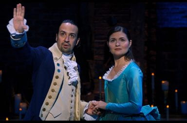 "The Broadway phenomenon ""Hamilton"" premiered Friday on Disney+ bringing the hit musical to on-screen. Credit: Courtesy of Walt Disney Studios/Akron Beacon Journal via TNS"