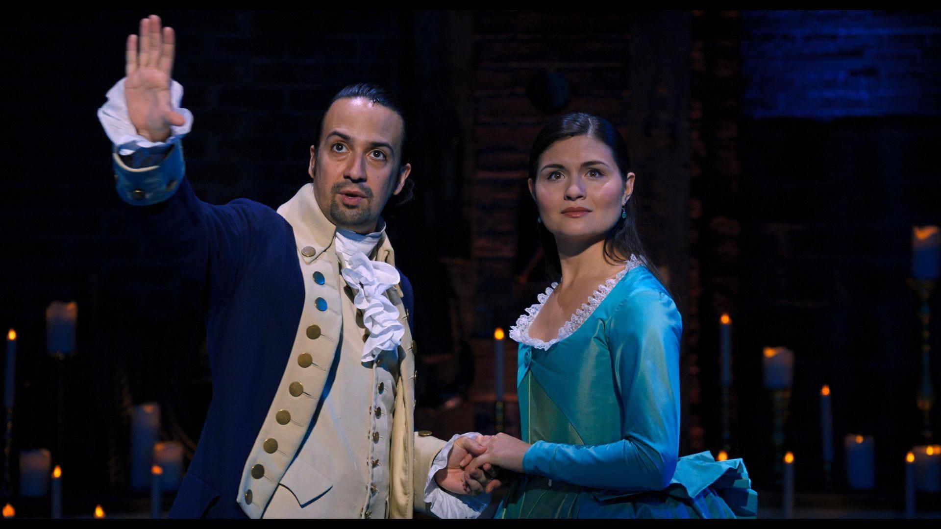 "The Broadway phenomenon ""Hamilton"" premiered Friday on Disney+ bringing the hit musical to on-screen. Credit: Courtesy of Walt Disney Studios/Akron Beacon Journal via TNS"
