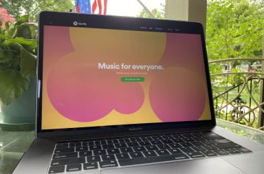 Music streaming services are an important part of the college experience and both Apple Music and Spotify Premium cost $4.99 a month with a student subscription. Credit: Mackenzie Shanklin | Assistant Photo Editor