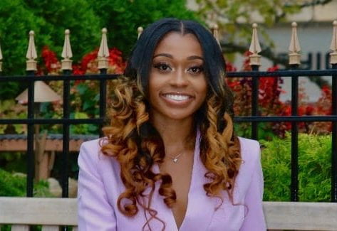 A Columbus-based marketing agency, The Shipyard, has committed to hiring two interns each summer from Ohio State's Black Advertising Strategic Communication Association. Micahiah Brown-Davis and Wedly Cazy are the first BASCA interns. Credit: Courtesy of Micahiah Brown-Davis