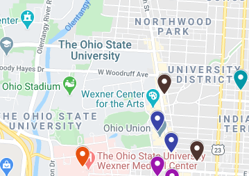 Ohio State Campus Area Crime Map July 28 through August 3