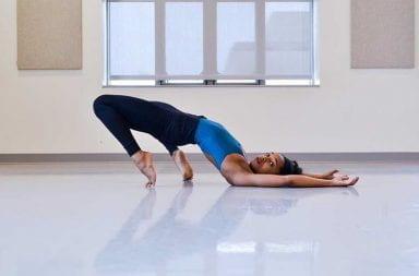 Brianna Rhodes dancing