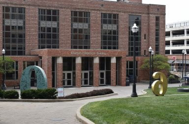 photo of enerson classroom building at ohio state