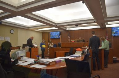 Mitchell joins arraignment via web conference