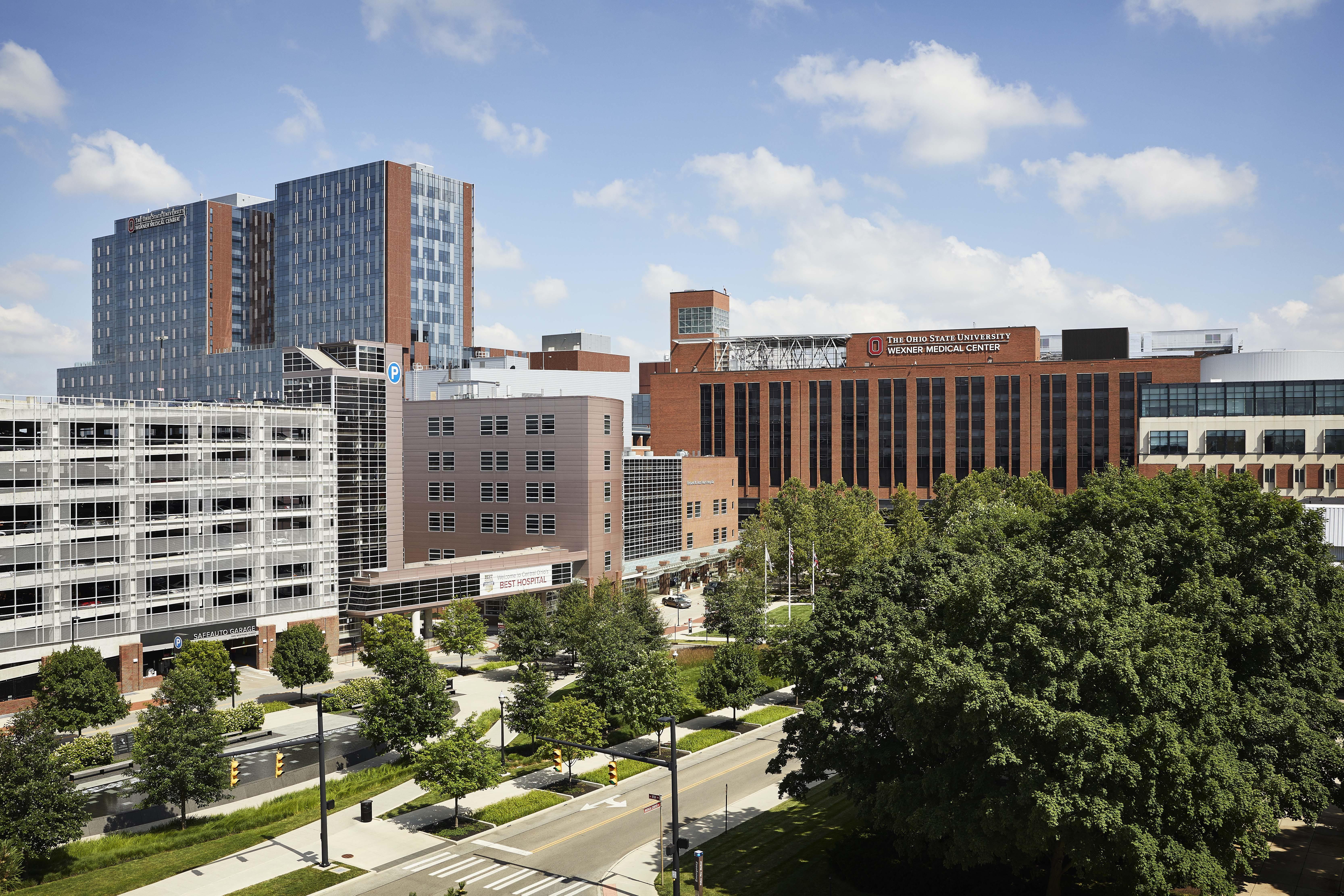 University Hospital buildings