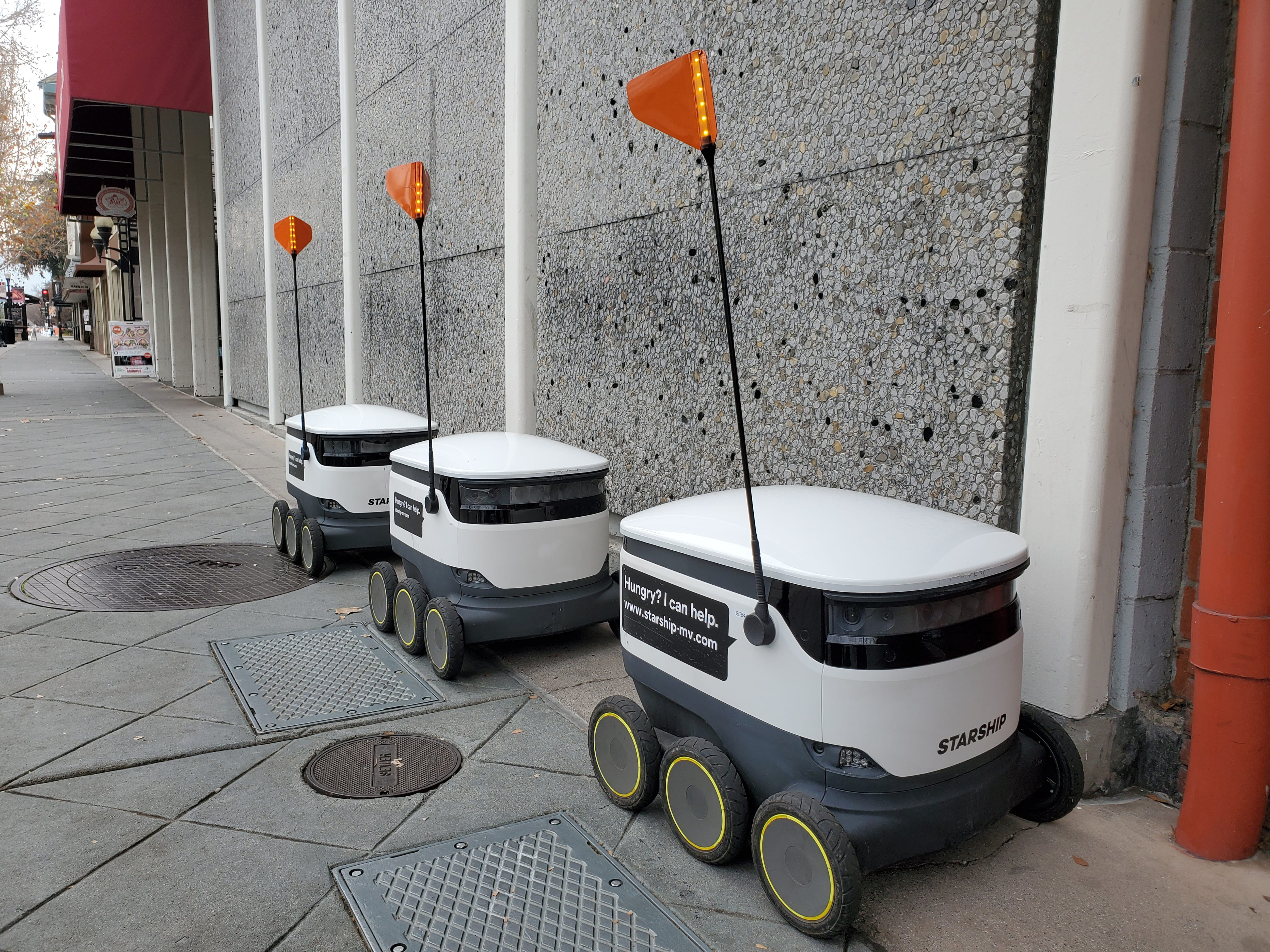 Starship self-driving delivery robots