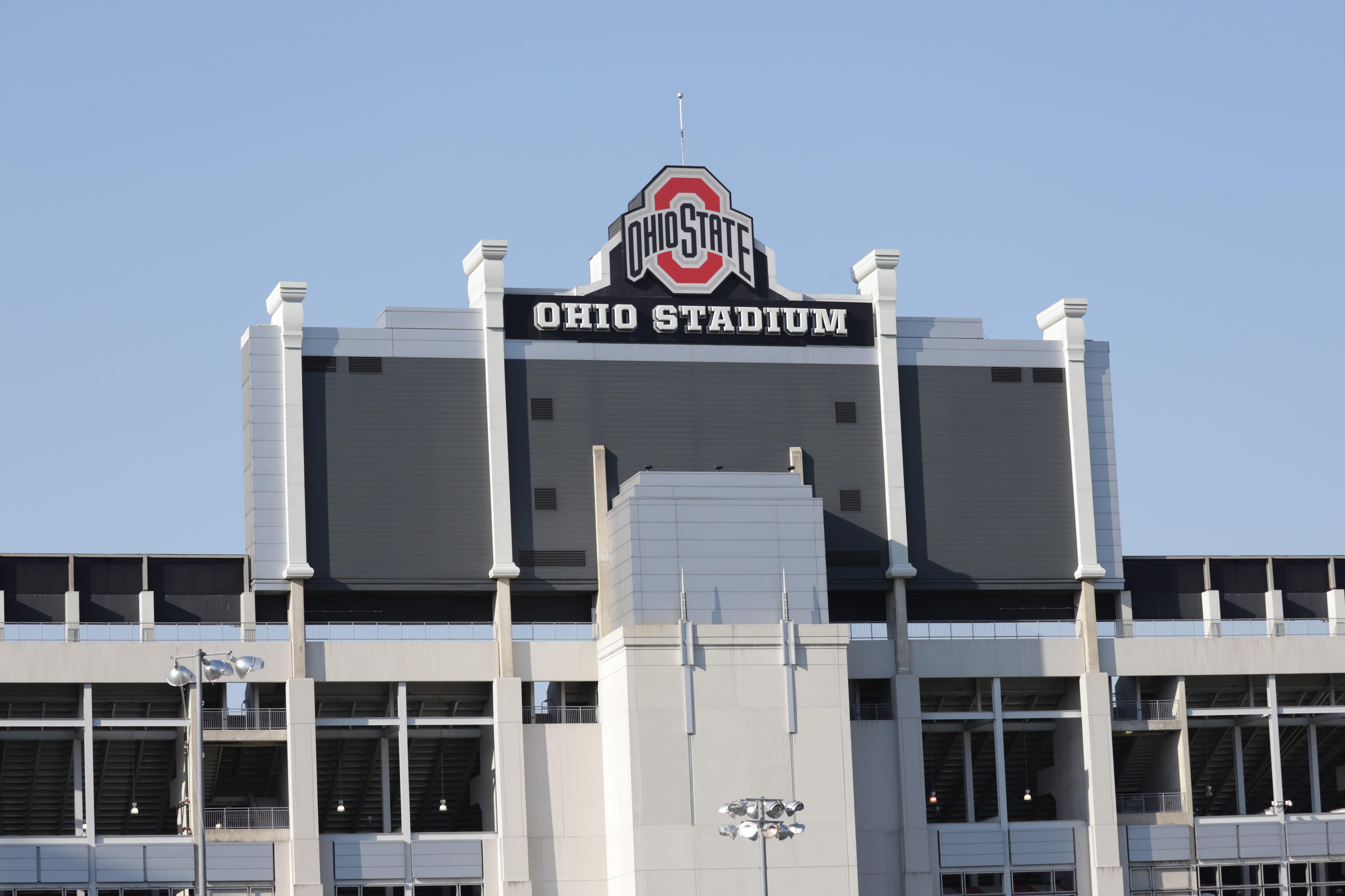 the outside of the ohio stadium