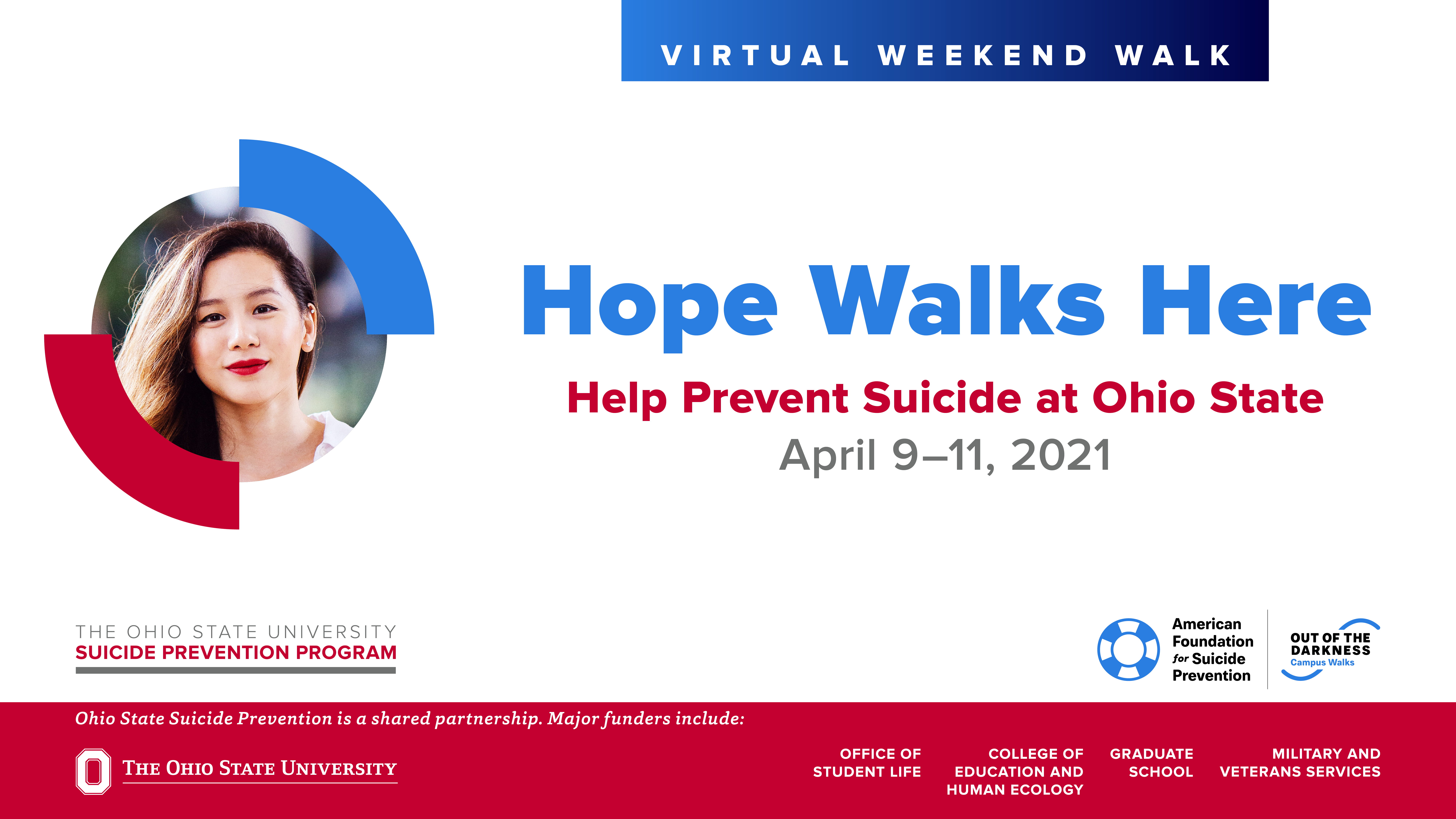 Out of the Darkness Campus Walk for suicide prevention begins Friday